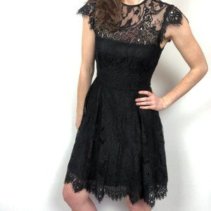 NWT BB Dakota Rihanna Black Lace Cocktail Dress